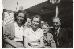 Margaret, Kate, Peter, Percy Holwell